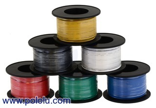 Stranded Wire 24 AWG 18 meter  Pololu