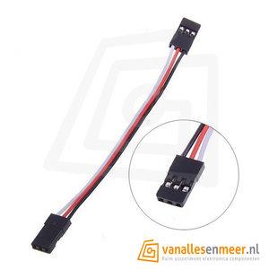 Servo Verleng kabel 10cm Patch kabel