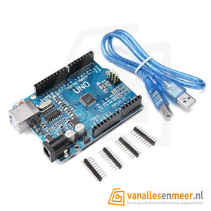 Arduino uno r3  CH-340  met USB kabel