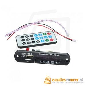 Audio Module  Bluetooth 3.0 USB FM mSD AUX  Inbouw