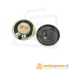 Round Micro Speaker Diameter 36mm 8R 1W