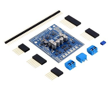 Dual G2 High-Power Motor Driver 18v18 Shield for Arduino Pololu 2515