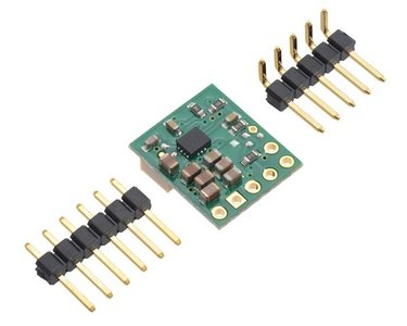 2.5-9V Fine-Adjust Step-Up/Down Voltage Regulator w/ Adjustable Low-Voltage Cutoff S9V11MACMA Pololu 2868