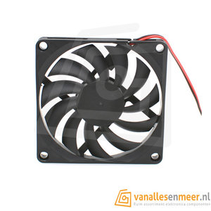 12v 8010 Cooling fan 80x80x10 2Pin