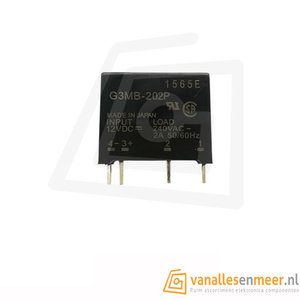 Solid state relais G3MB-202P 12V