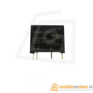 Solid state relais G3MB-202P 24V