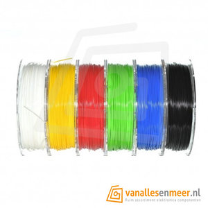 PET-G Filament starterpack 1.75mm 6x0.33kg