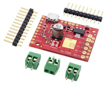 Tic T500 USB Multi-Interface Stepper Motor Controller (kit) Pololu 3135