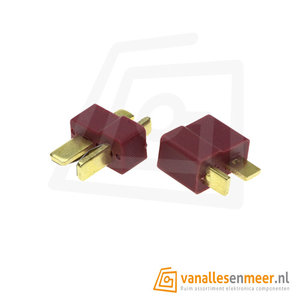 T-connector male/female set