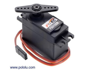 FEETECH Continuous Rotation Servo FS5106R Pololu 3430