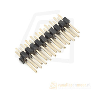 Header 2x10 pins male pitch 2.0mm