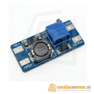 DC-DC Verstelbare Step-up Boost Converter MT3608 2A