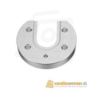 Hotend mound plate aluminum E3D round