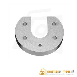 Hotend V6 mound plate aluminum E3D round