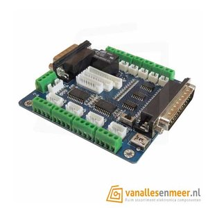 MACH3 CNC freesmachine interface board 5 axis stappenmotor besturingskaart
