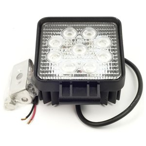27 watt LED werklamp 12v 24v  Verstraler 30° 27w