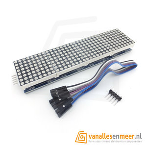 MAX7219 4 in 1 dot matrix module Display module