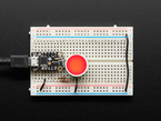 Diffused Red and Green Indicator LED - 18mm Round Adafruit 4042