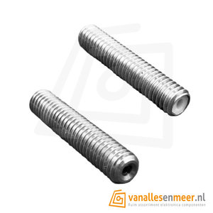 m6x40mm Nozzle throat 1,75mm stainless steel