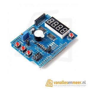 4 Digitaal multifunctioneel shield uitbreidingsbord voor Arduino