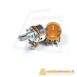 B500K Lineaire Potentiometer met AAN UIT Schakelaar