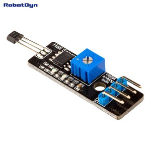 Hall (magnetic) Sensor with analog & digital outs