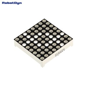 Matrix 8x8 LED, 32x32mm White-common anode   Robotdyn