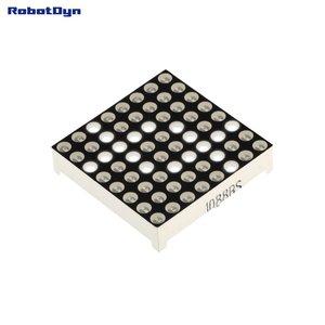 Matrix 8x8 LED, 32x32mm White-common anode   Robotdyn