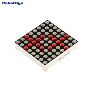 Matrix 8x8 LED, 32x32mm Red-common anode   Robotdyn