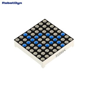 Matrix 8x8 LED, 32x32mm Blue-common anode   Robotdyn