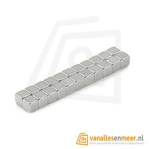 10x10x10mm Magneet Neodymium N52
