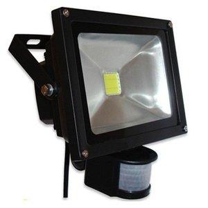 20 watt Led bouwlamp buitenlamp met sensor  IP 65