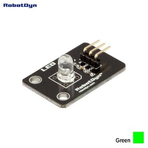 Kleur LED-module Groen RobotDyn