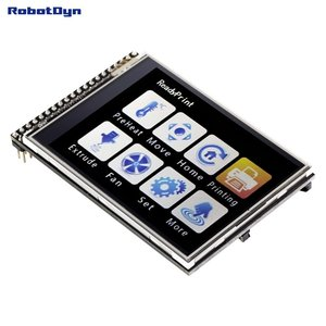 "TFT 2.8"" LCD Touch Screen module, 3.3V, with SD and MicroSD card RobotDyn"