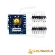 WeMos D1 Mini durkknop Shield