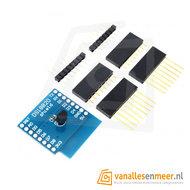 WeMos D1 Mini DS18B20 temperatuur sensor Shield