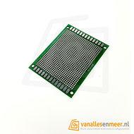 Prototyping board 6x8cm (26x32gaats) PCB dubbelzijdig 2mm pitch