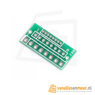 Adapter pcb 1.27mm 2.0mm 2.54mm