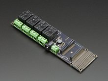 Relay Shield for Photon Adafruit 3051