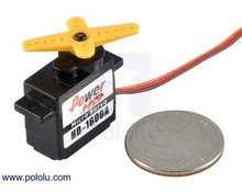 Power HD Micro Servo HD-1600A Pololu 2145