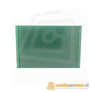 Prototyping board 12x18cm (46x64gaats) PCB dubbelzijdig