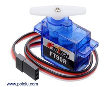 FEETECH FT90R Digital Micro Continuous Rotation Servo  Pololu 2817