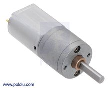 156:1 Metal Gearmotor 20Dx44L mm 6V CB Pololu 3706