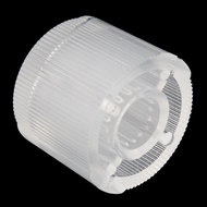 Clear Plastic Knob Sparkfun 10597