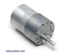 100:1 Metal Gearmotor 37Dx57L mm Pololu 1106