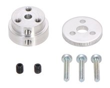 Aluminum Scooter Wheel Adapter for 4mm Shaft  Pololu 2672