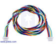 6-Pin Female-Female JST SH-Style Cable 40cm Pololu 4768