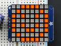 8x8-Ultra-Bright-Square-Amber-LED-Matrix-+-Backpack--Adafruit-1854